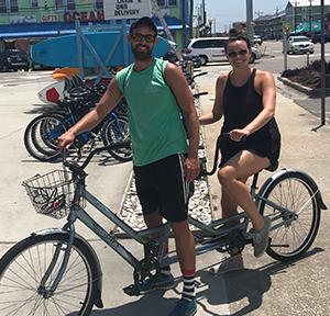 Pleasure Island Rentals Tandem Bike