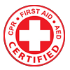 CRP & First Aid Certified