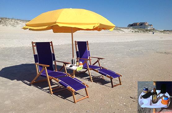 Beach Chair and Umbrella Rental VIP