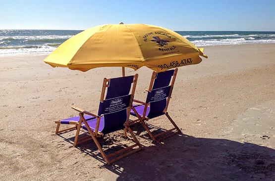 Pleasure Island Rentals Chair and Umbrella Rentals