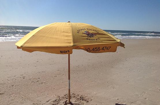 Umbrella Rentals Pleasure Island Rentals